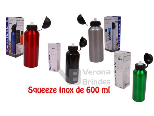 Squeeze Inox 1019 - 600 ml